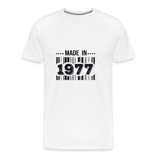 Made in 1977 - T-shirt Premium Homme