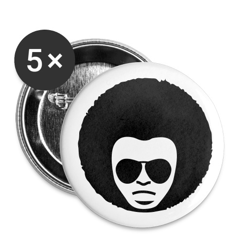 Chapas funky - Paquete de 5 chapas medianas (32 mm)