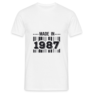 Made in 1987 - T-shirt Homme