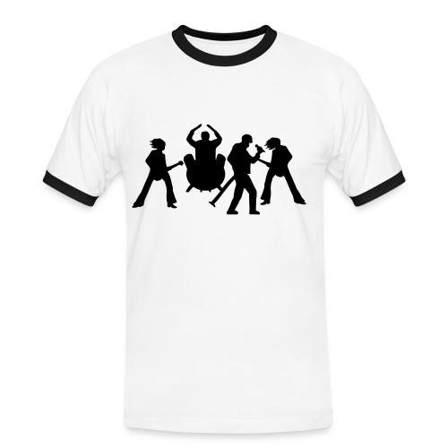 Camiseta banda rock - Camiseta contraste hombre