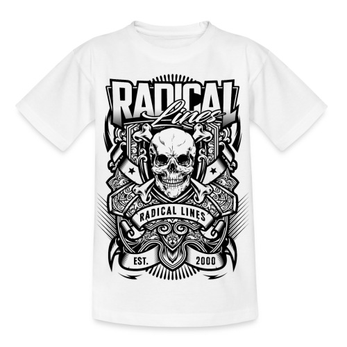 radical lines3 - T-shirt barn