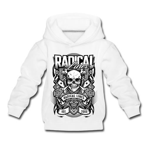 radical lines4 - Premium-Luvtröja barn