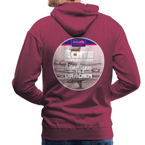 Kreativer Kiteblog Pink Bursch'n Kapuzenpullover - Männer Premium Hoodie