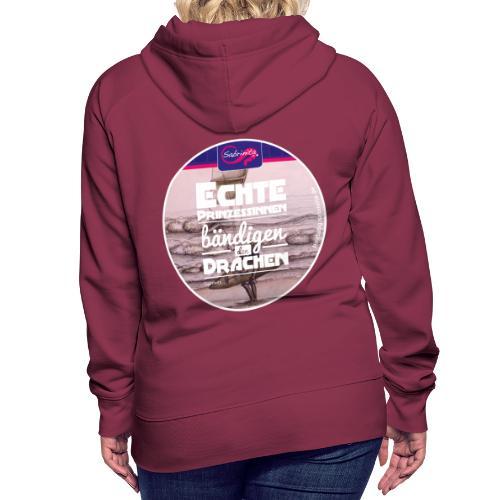 Kreativer Kiteblog Pink Mädls Kapuzenpullover - Frauen Premium Hoodie