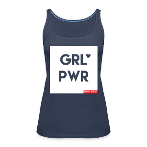 ARMED NATION GIRLIE TOP GRL PWR 2017 - Frauen Premium Tank Top