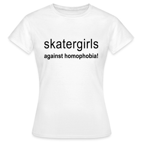 skatergirls against - Frauen T-Shirt