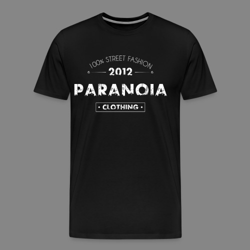 PARANOIA NO.2012 - Männer Premium T-Shirt
