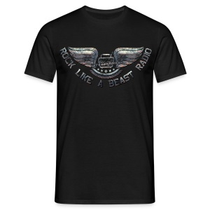 Rock Like A Beast Radio - T-shirt herr