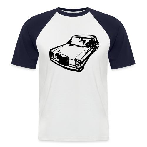 T-Shirt 2-Farbig mit Strich 8 - Männer Baseball-T-Shirt