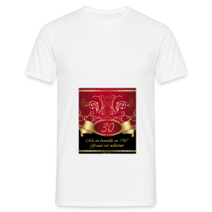 Grand cru 30 ans - T-shirt Homme