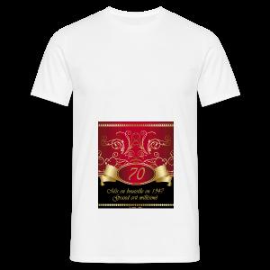 Grand cru 70 ans - T-shirt Homme