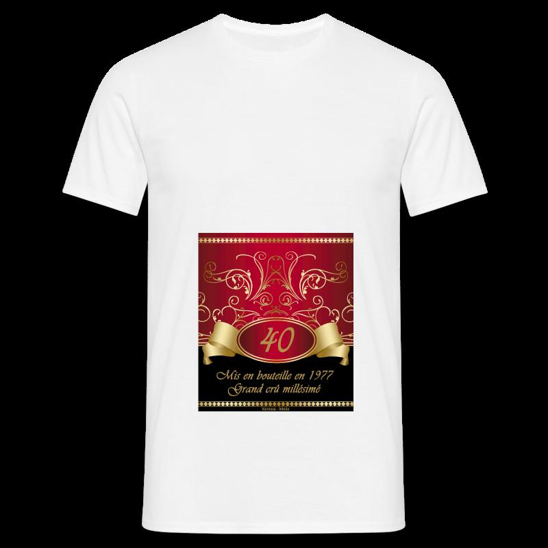 Grand cru 40 ans - T-shirt Homme
