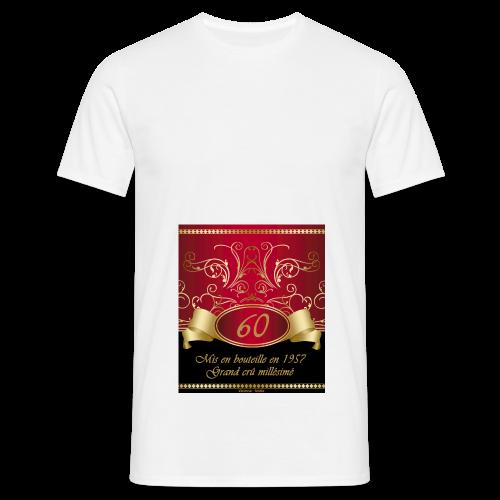 Grand cru 60 ans - T-shirt Homme
