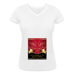 Grand cru 70 ans - T-shirt bio col V Stanley & Stella Femme