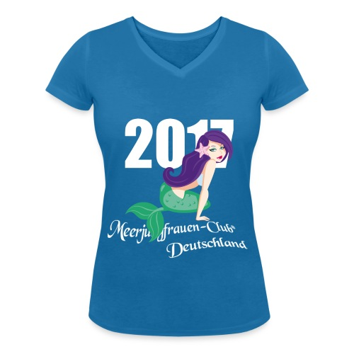 2017 - Fanshirt Damen - Frauen Bio-T-Shirt mit V-Ausschnitt von Stanley & Stella