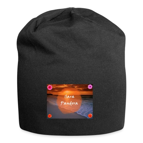 Gorro con logo - Gorro holgado de tela de jersey