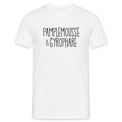 PAMPLEMOUSSE & GYROPHARE - Noir - T-shirt Homme