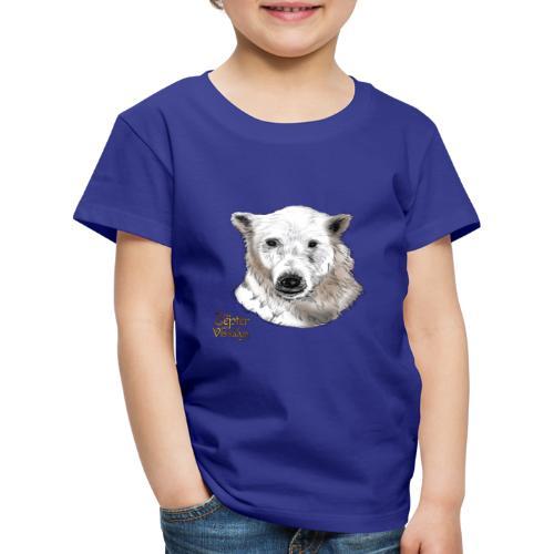 Schneebär aus der Eiswüste - Kinder Premium T-Shirt