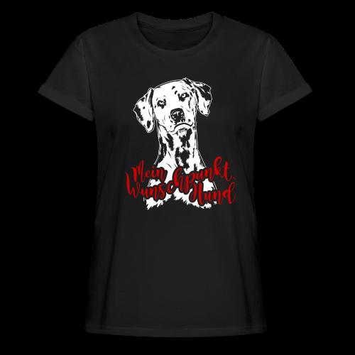 Dalmatiner - Frauen Oversize T-Shirt