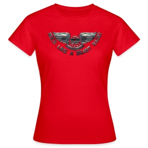Rock Like a Beast Radio - T-shirt dam