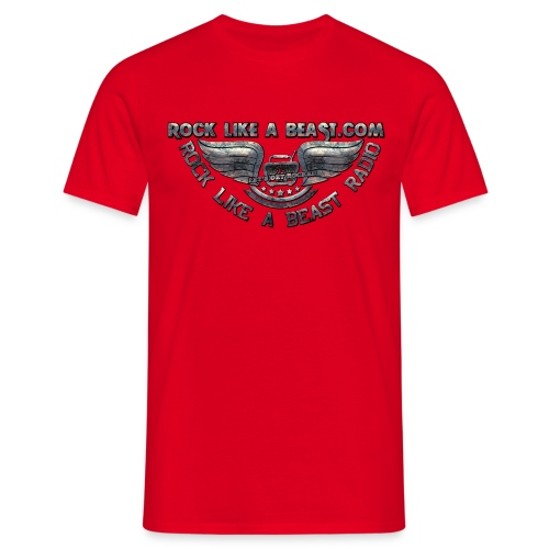 Rock Like a Beast . com  T-Shirt - T-shirt herr