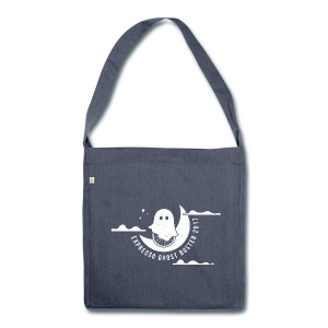 Top 100 Ghost Tote - Shoulder Bag made from recycled material