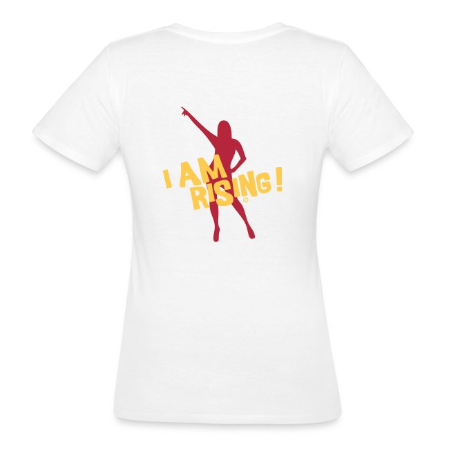 I am rising - Womans Shirt Bio