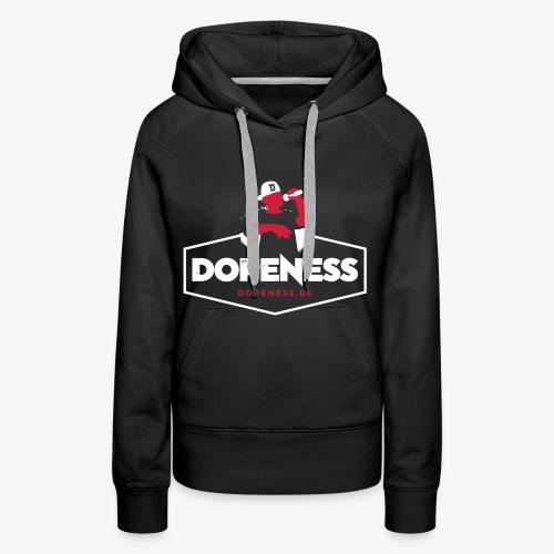 Premium Hoodie (zwart) (vrouw) - Vrouwen Premium hoodie