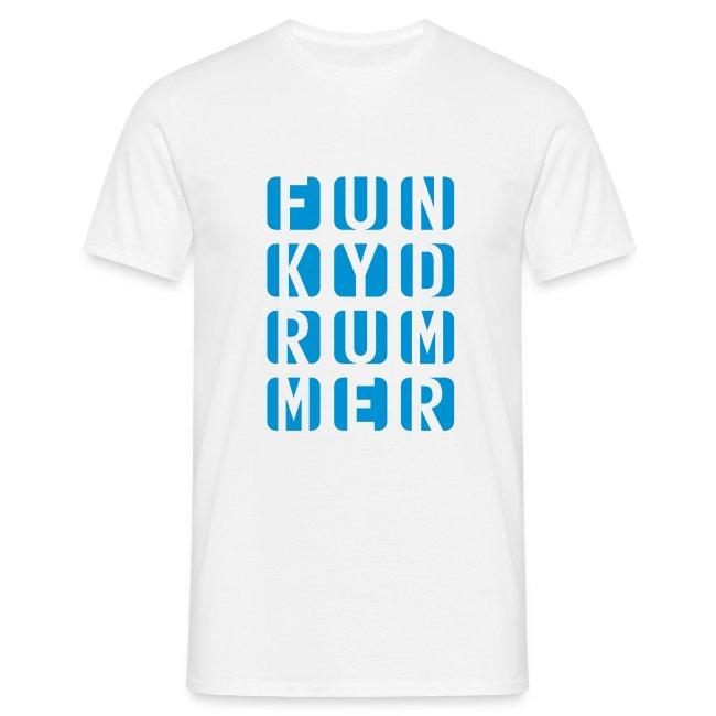 Funky Drummer Cube Shirt (Herren)