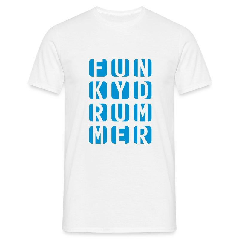 Funky Drummer Cube Shirt (Herren) - Männer T-Shirt