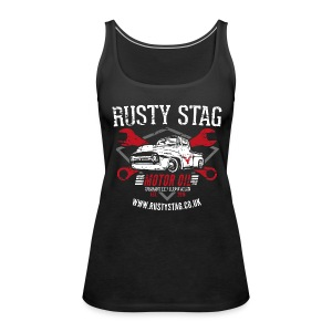 Ladies Motor Oil Vest - Women's Premium Tank Top