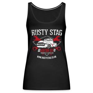 Ladies Motor Oil Vest - Women's Premium Tank Top