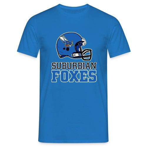 2017 Suburbian Foxes Männer T-Shirt Blau - Männer T-Shirt