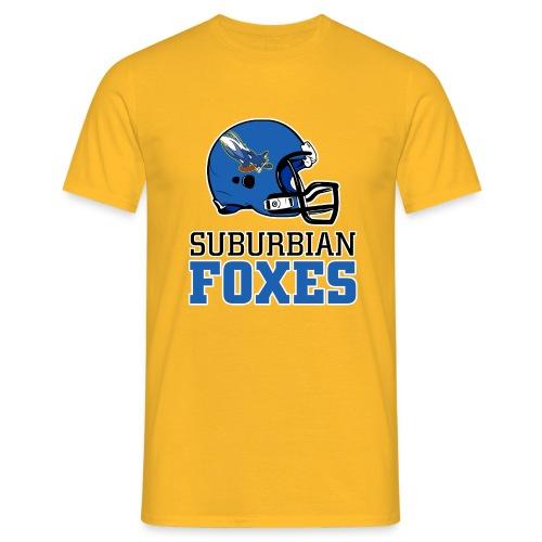 2017 Suburbian Foxes Männer T-Shirt Gelb - Männer T-Shirt