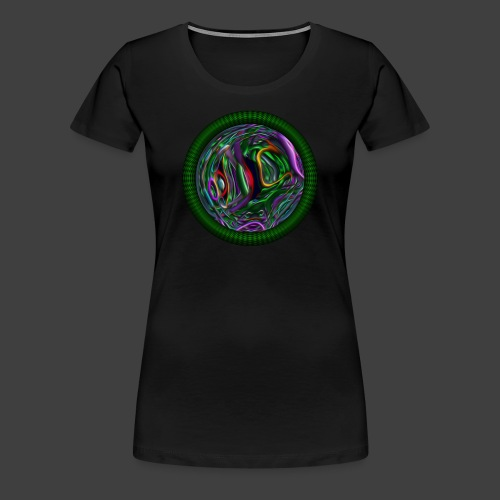 The intrincate path of existence - Women's Premium T-Shirt