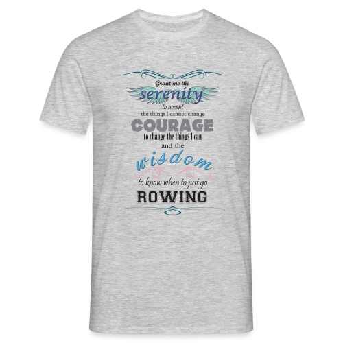 serenity, wisdom, courage - Men's T-Shirt