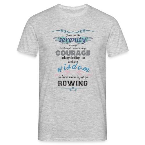 serenity, wisdom, courage - Men's T-Shirt