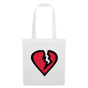 broken heart tote bag - Tote Bag