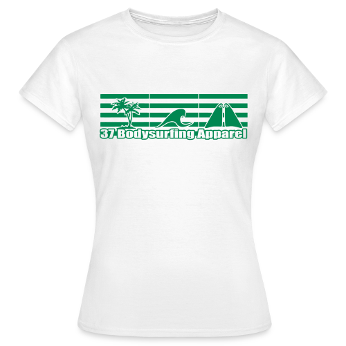 Bodysurfing Roots Shirt Weiß Female - Women's T-Shirt
