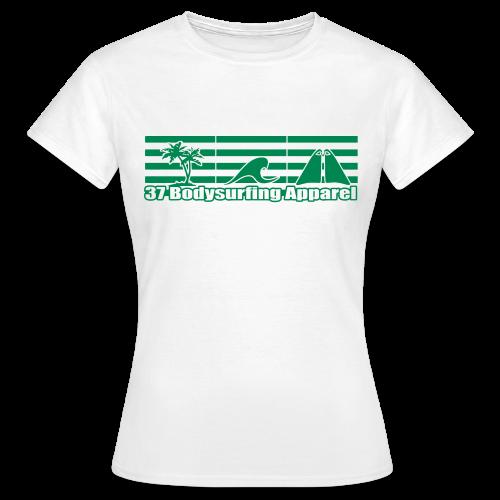 Bodysurfing Roots Shirt Weiß Female - Women's T-Shirt