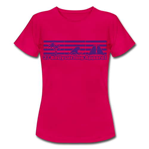 Bodysurfing Roots Shirt pink Female - Women's T-Shirt