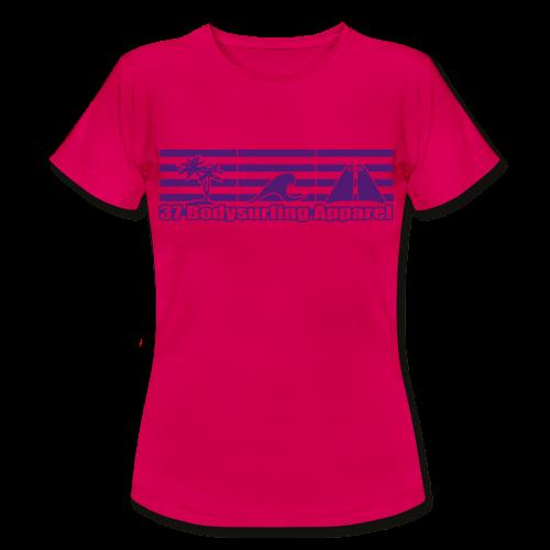 Bodysurfing Roots Shirt pink Female - Women's T-Shirt