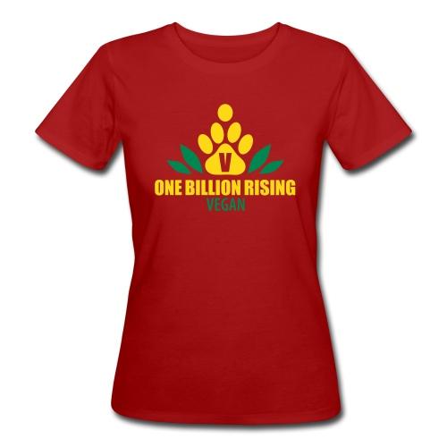 Vegans Rising - Bio Shirt - Frauen Bio-T-Shirt