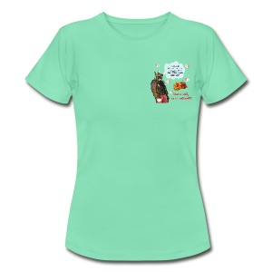Potti-Grill - Frauen T-Shirt