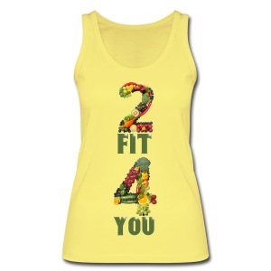 Vegan 2 FIT 4 YOU Fitness Power - Frauen Bio Tank Top von Stanley & Stella