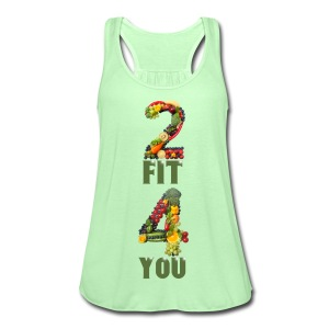 Vegan 2 FIT 4 YOU Fitness Power - Frauen Tank Top von Bella