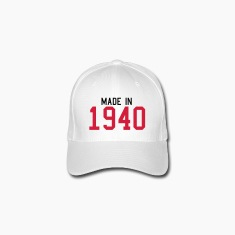 White 1940 Caps & Hats