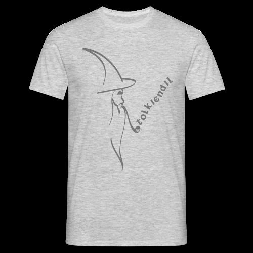 Magicien Tolkiendil Gris T-Shirt Homme Couleur - T-shirt Homme