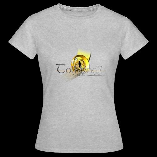 Logo Griffe Tolkiendil Digitale T-Shirt Standard Femme Couleur - T-shirt Femme