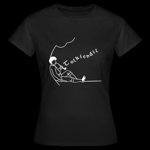 Semi-Homme Tolkiendil Blanc T-shirt Basique Femme - T-shirt Femme